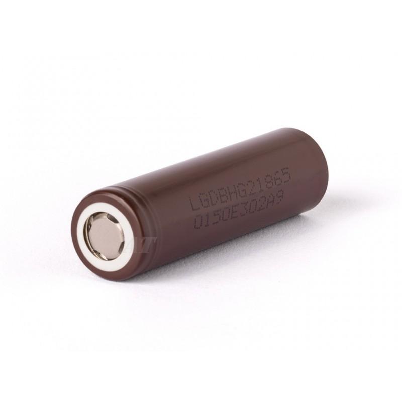 LG INR18650HG2 - 3000mAh 3,6 - 3,7V, 20A